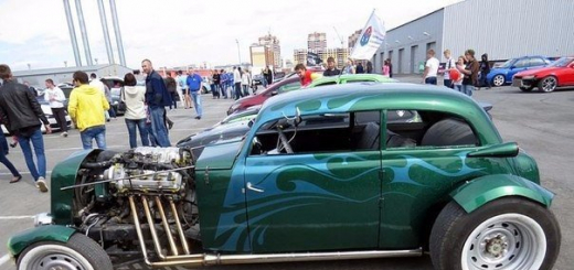 Москвич 400 Hot-Rod Custom